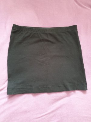 H&M Basic Stretch Skirt black