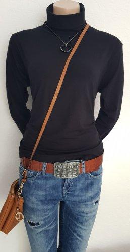 Burnetto Turtleneck Shirt black