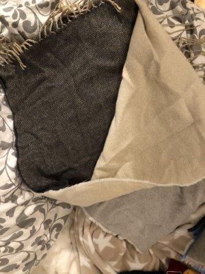 HM Écharpe en laine multicolore