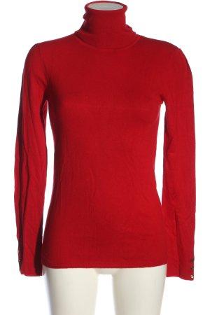 Basic Camicetta da notte rosso elegante