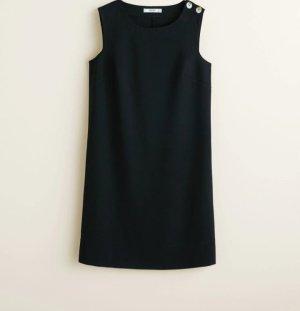 Basic Schwarz Kleid