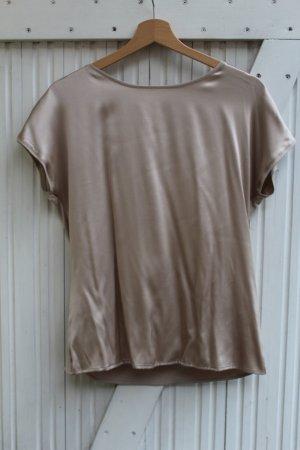 Basic Seiden Shirt I T-Shirt I Metallic I Hallhuber I Neu mit Etikett