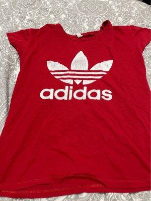 Adidas  wit-donkerrood
