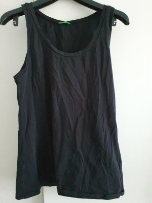 United Colors of Benetton Muscle Shirt black