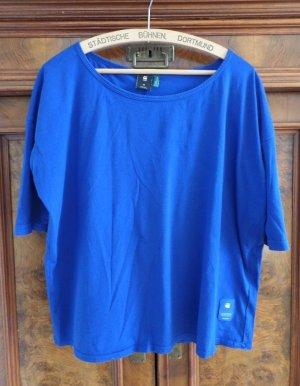 G-Star Shirt basique bleu coton