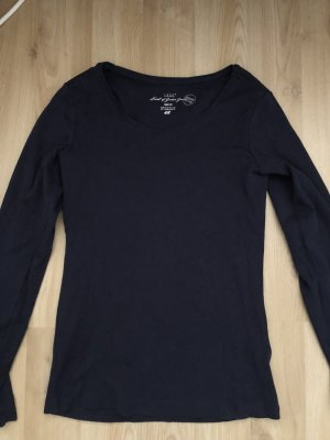 Basic Shirt dunkelblau