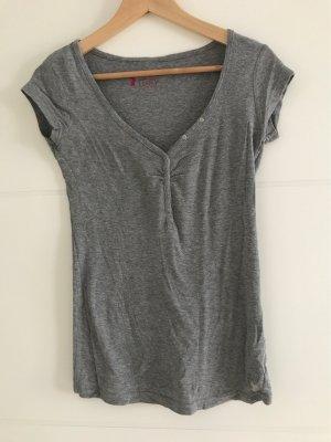 Basic Shirt grau S