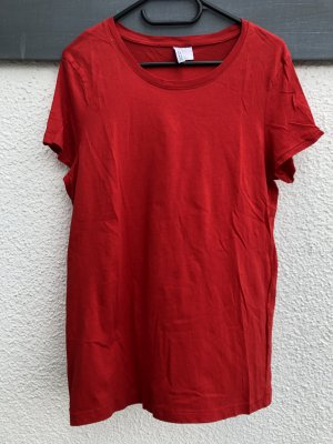 Basic-Shirt in Rot von H&M - Gr. L