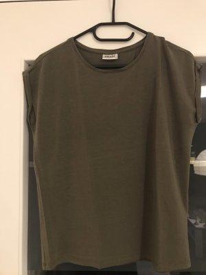 Basic Shirt Khaki von Vero Moda Gr. XS