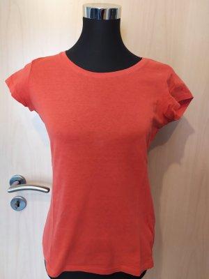 Basic Shirt Kurzarm orange Gr. M
