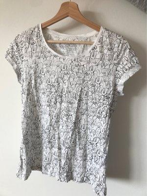 Basic Shirt mit süßem Aufdruck