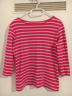 munich freedom Basic Shirt red-white mixture fibre