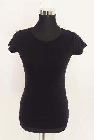 Basic Shirt schwarz Gr. S Clockhouse