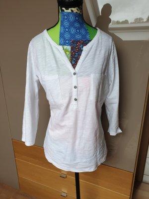Basic shirt weiß boden