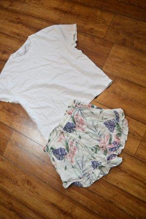Basic Shirt weiss Gr. 36 Topshop