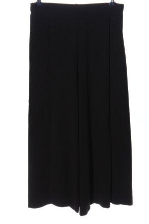 Basic Pantalon en jersey noir style d'affaires
