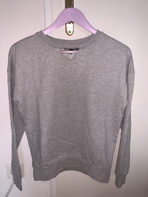 Basic Sweatshirt mit Details