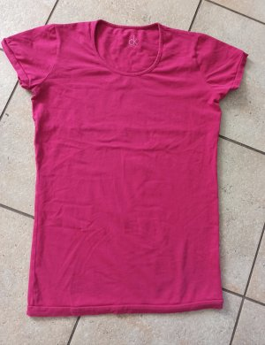 Calvin Klein T-shirt rosso lampone