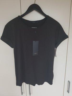 Basic T-shirt aus weighed fließenden Modal luxzuz