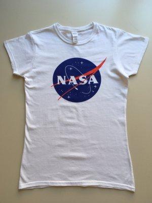Basic T-Shirt mit NASA Print
