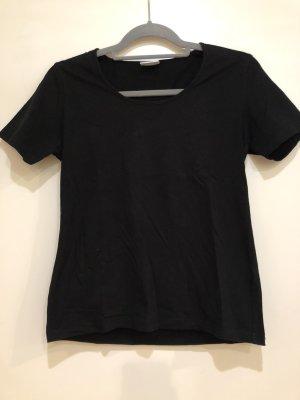 Basic T-Shirt schwarz, Gr. S (36/38), Elle Nor