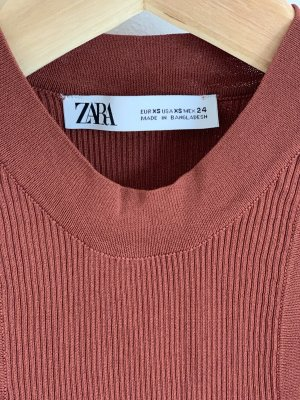 Zara Haut évasé en bas brun