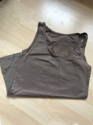 Comma Basic topje taupe
