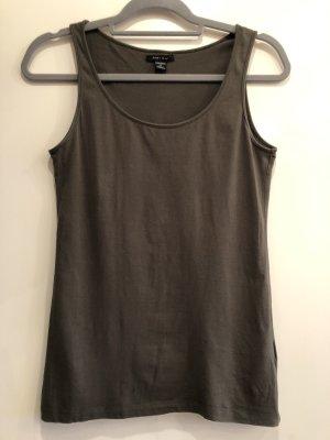 Basic Top dunkles khaki, Gr. M, Amisu