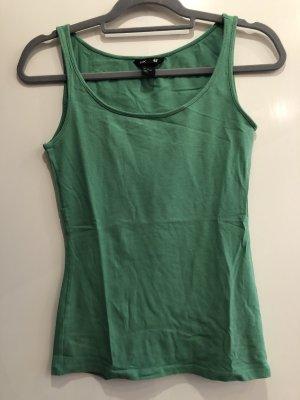 Basic Top grün, Gr. S, H&M