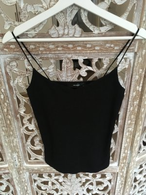 Hallhuber Basic topje zwart Katoen