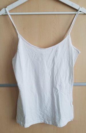 Basic Top in Weiß von H&M (M)