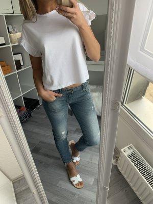 Zara Basic T-shirt biały