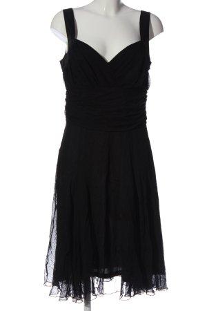 Basic Robe à bretelles noir style d'affaires