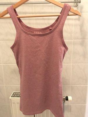 Basic Trägershirt Violett