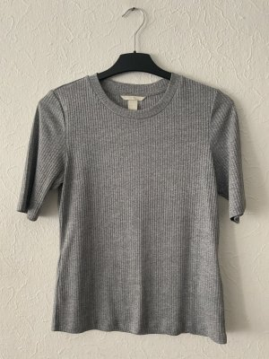 Basic tshirt in grau