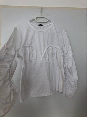 Basic white top size L