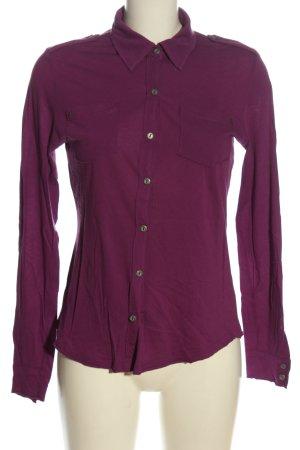 Basically You Chemise à manches longues violet style décontracté