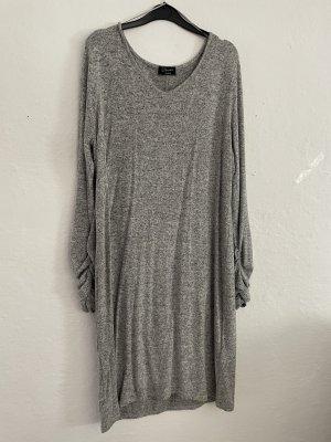 Vestido elástico gris
