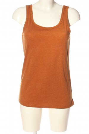 basics clockhouse Basic Top light orange flecked casual look