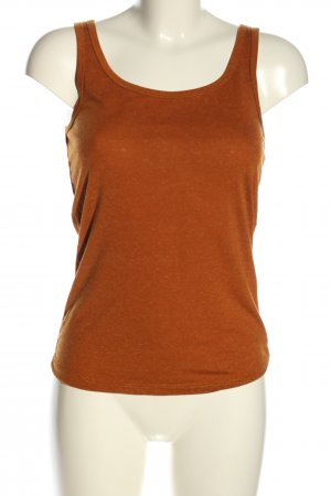 basics clockhouse Basic topje licht Oranje gestippeld casual uitstraling