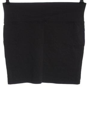 basics clockhouse Mini rok zwart zakelijke stijl