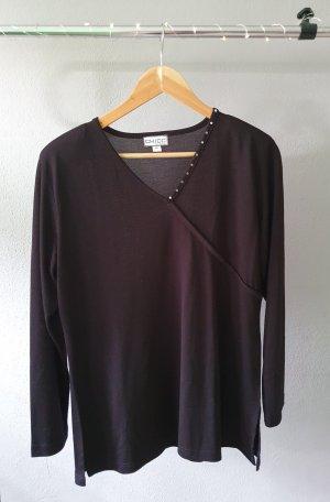 Chicc V-Neck Sweater black