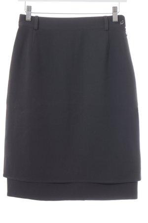 Basile Pencil Skirt dark brown casual look