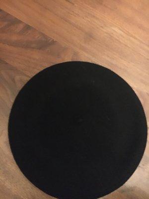 Seeberger Berretto basco nero