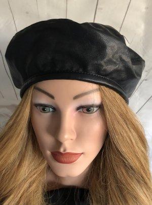 Baskenmütze schwarz Casual-Look