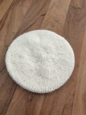 H&M Casquette blanc cassé-blanc coton