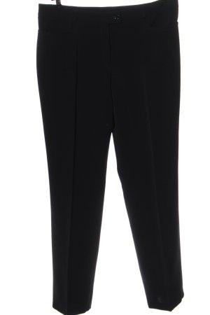 Basler Pantalone da abito nero elegante