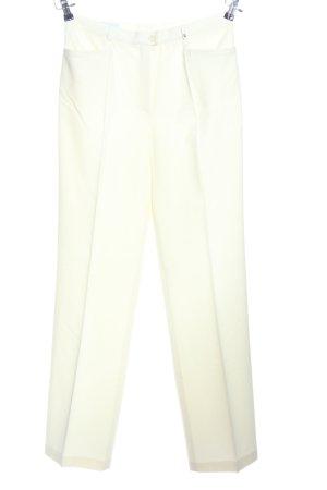 Basler Pantalon wit zakelijke stijl