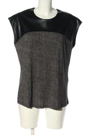 Basler Basic Top light grey-black casual look