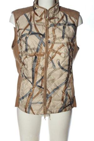 Basler Black Label Gewatteerd vest prints met een thema casual uitstraling
